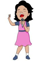 152x210 Images Gallery Clipart Music Tn Young Female
