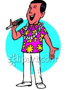 225x300 People Singing Clipart Man Singing Clipart 1