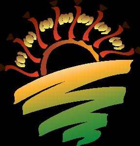 288x300 Sunset Graphic Clip Art