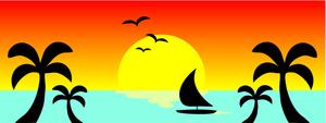 300x113 Sunset Clip Art 6366589