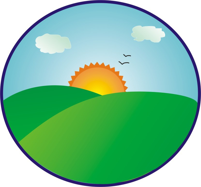 830x775 From Sunrise To Sunset Clip Art
