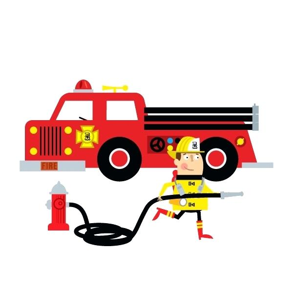 600x600 Fire Truck Clipart Temporary Tattoos Fire Truck Clip Art Fire