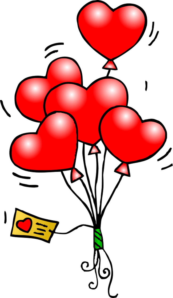 Clipart Of Valentines Day