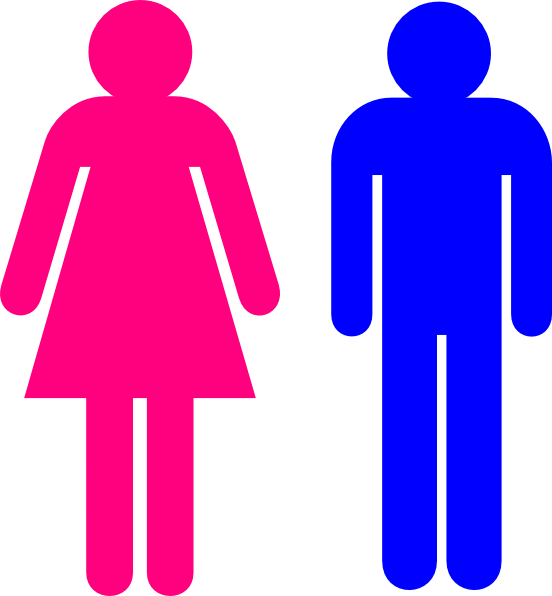 552x596 Symbol Male And Female Clip Art