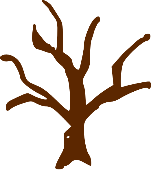 522x593 Clipart Of Tree With Branches Clip Art At Clker Com Vector Online