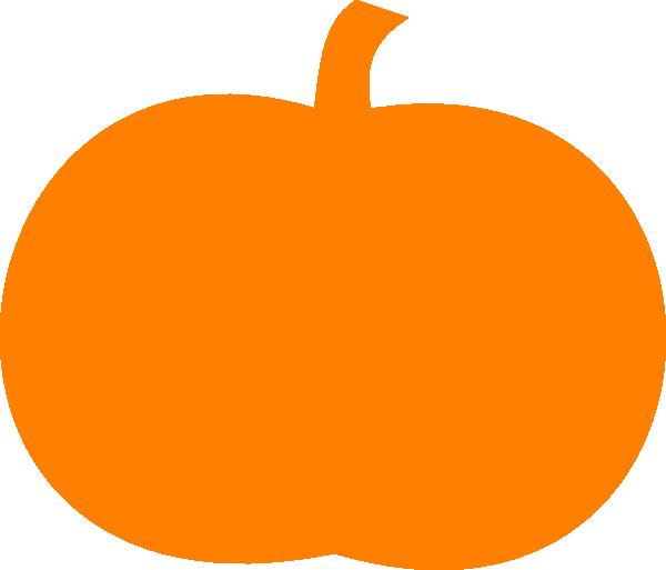 600x513 Pumpkin Outline Clip Art Clipartlook
