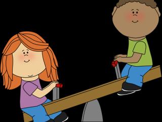 320x240 Little Kids Clipart Kids On Teeter Totter Cliprt Kids On