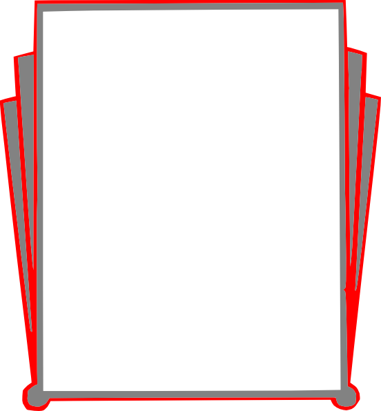552x595 Border Pages Book Clip Art Clipart Panda