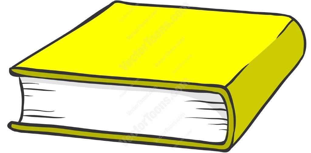 1024x504 Cartoon Book Picture Yellow Hardcover Book Cartoon Clipart Vector