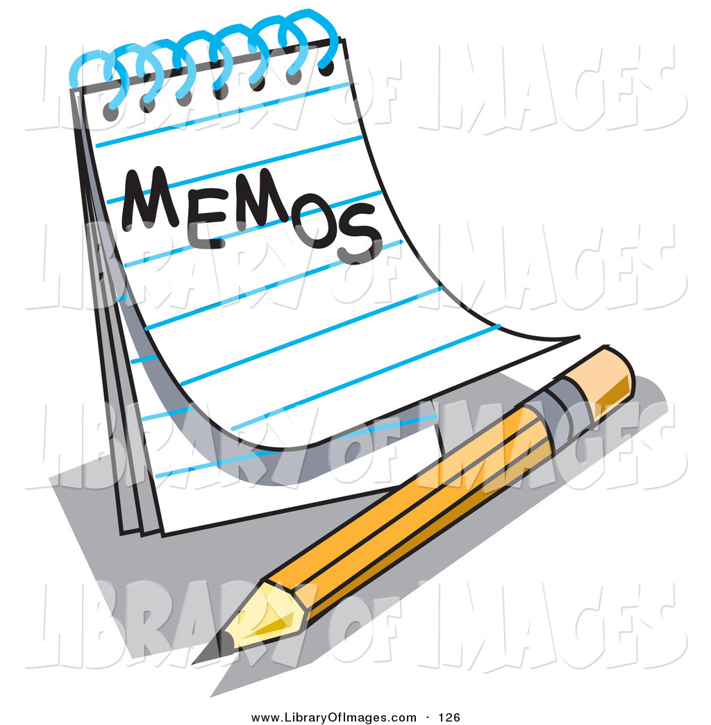 1024x1044 Clip Art Of An Open Notepad With Lined Pages With Memos Written