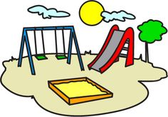 236x165 Play Park Clipart, Playground Clipart, Swings Ride Clp Art, Only