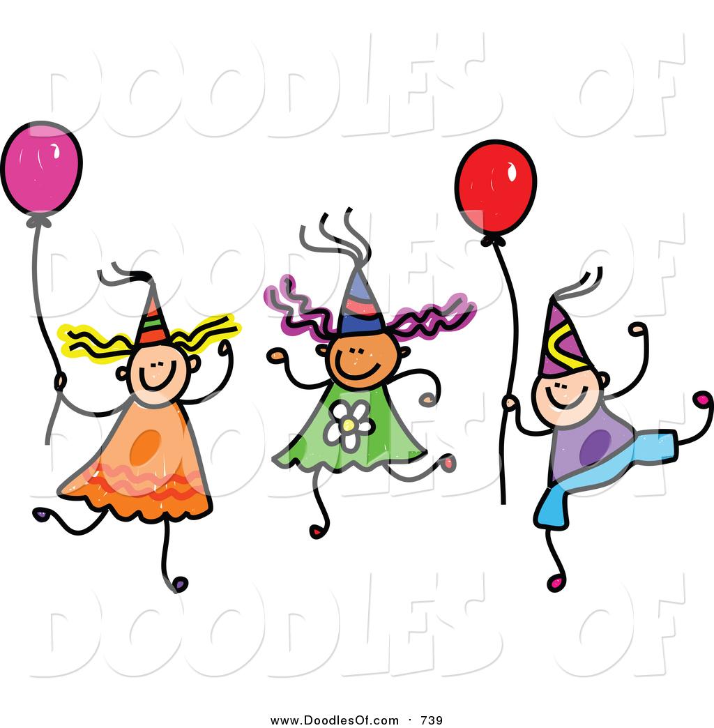 1024x1044 Kids Party Clipart