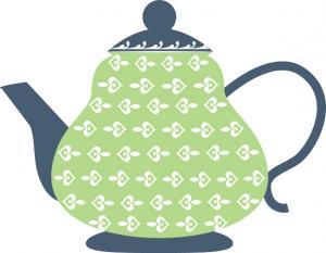 300x233 Tea Party Clip Art