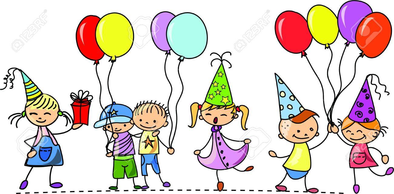 1300x641 Birthday Party Clip Art Clipart Panda