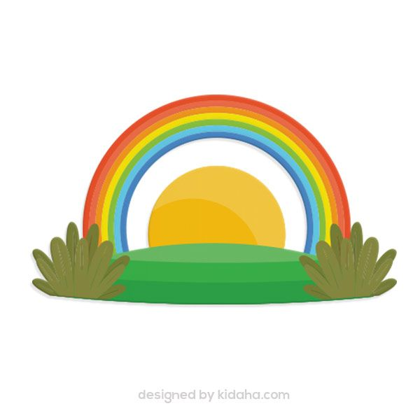 600x600 Free Rainbow Clip Arts For Kids, Parents And Teachers, Free