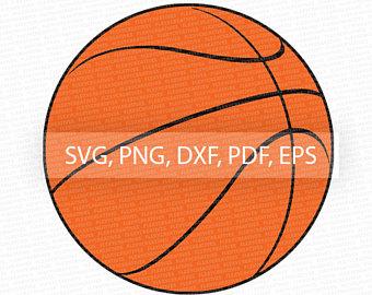 340x270 Basketball Vector Clipart Cut File Basketball Clip Art