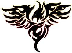 236x175 Beautiful Phoenix Bird Tattoo Clipart