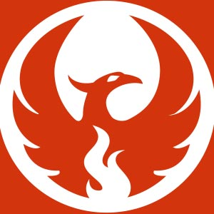 300x300 Phoenix Clipart Emblem 3784529