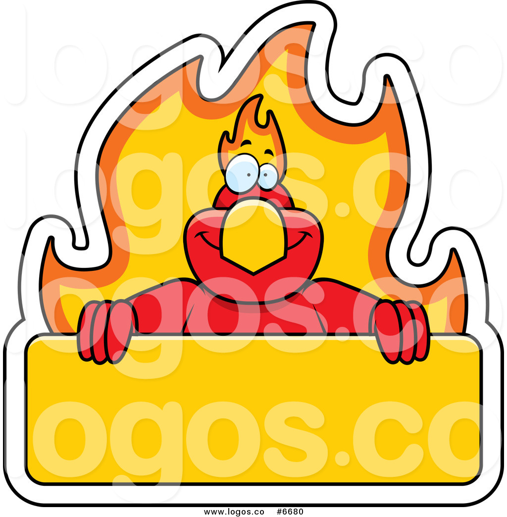 1024x1044 Royalty Free Cliprt Vector Logo Of Phoenix With Flaming