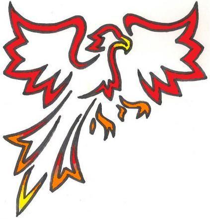423x442 Nice Clipart Phoenix Phoenix