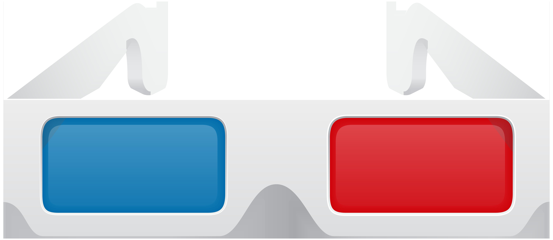 6000x2609 Cinema 3d Glasses Png Clip Art