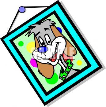 346x350 Crooked Portrait Of A Pet Dog