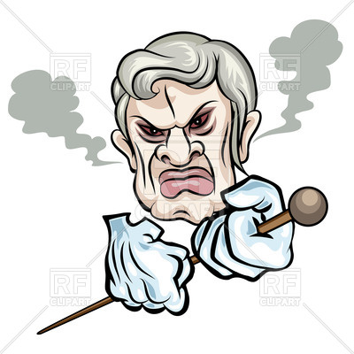 400x400 Angry Man With A Cane