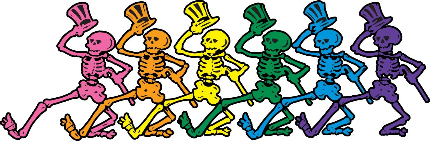 1502x494 Grateful Dead Clip Art