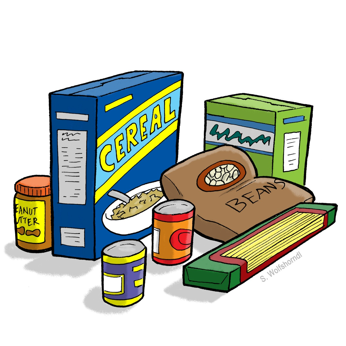 1200x1200 Best Food Drive Clip Art
