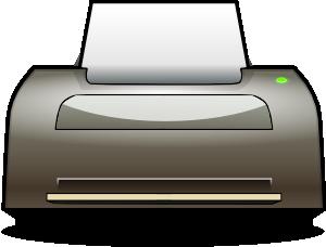 300x228 Inkjet Printer Clip Art Free Vector 4vector