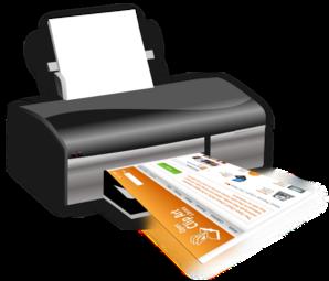 298x255 Printer Clip Art
