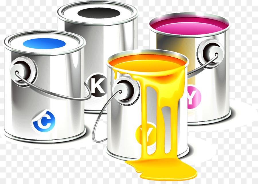 900x640 Cmyk Color Model Printing Clip Art