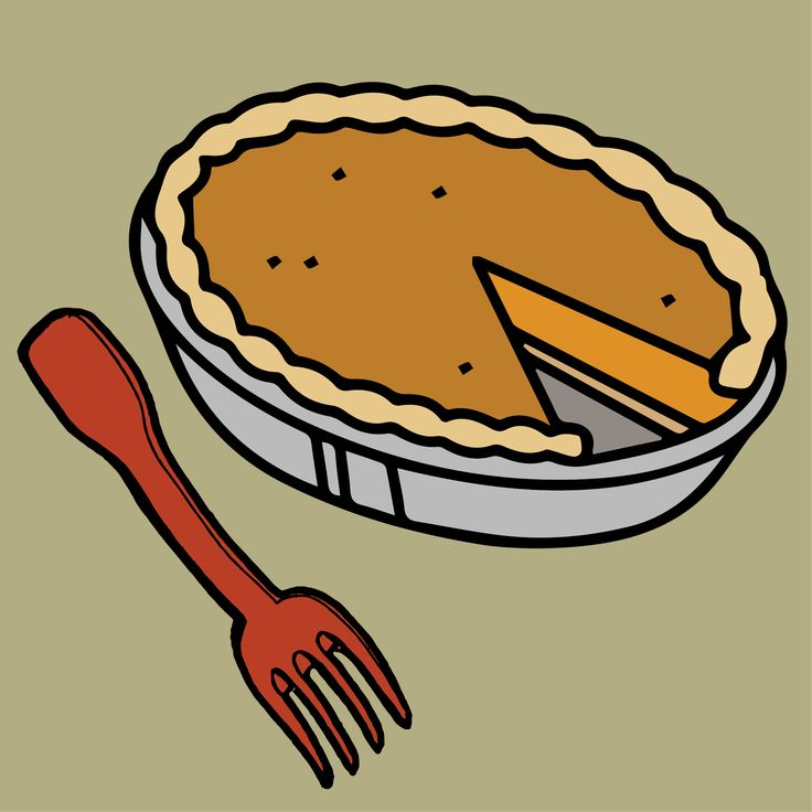 Clipart Pumpkin Pie