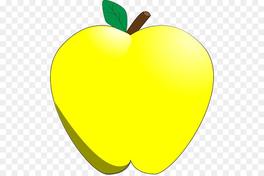 900x600 Golden Delicious Apple Clip Art