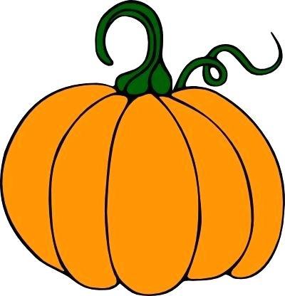 400x416 Cute Pumpkin Clipart