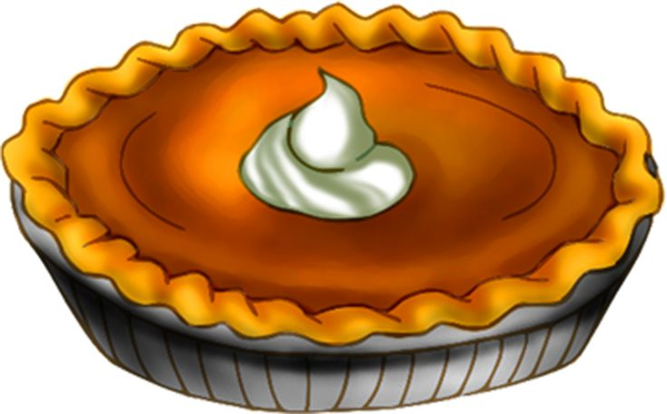 600x372 Black And White Pumpkin Pie Clipart Free Images