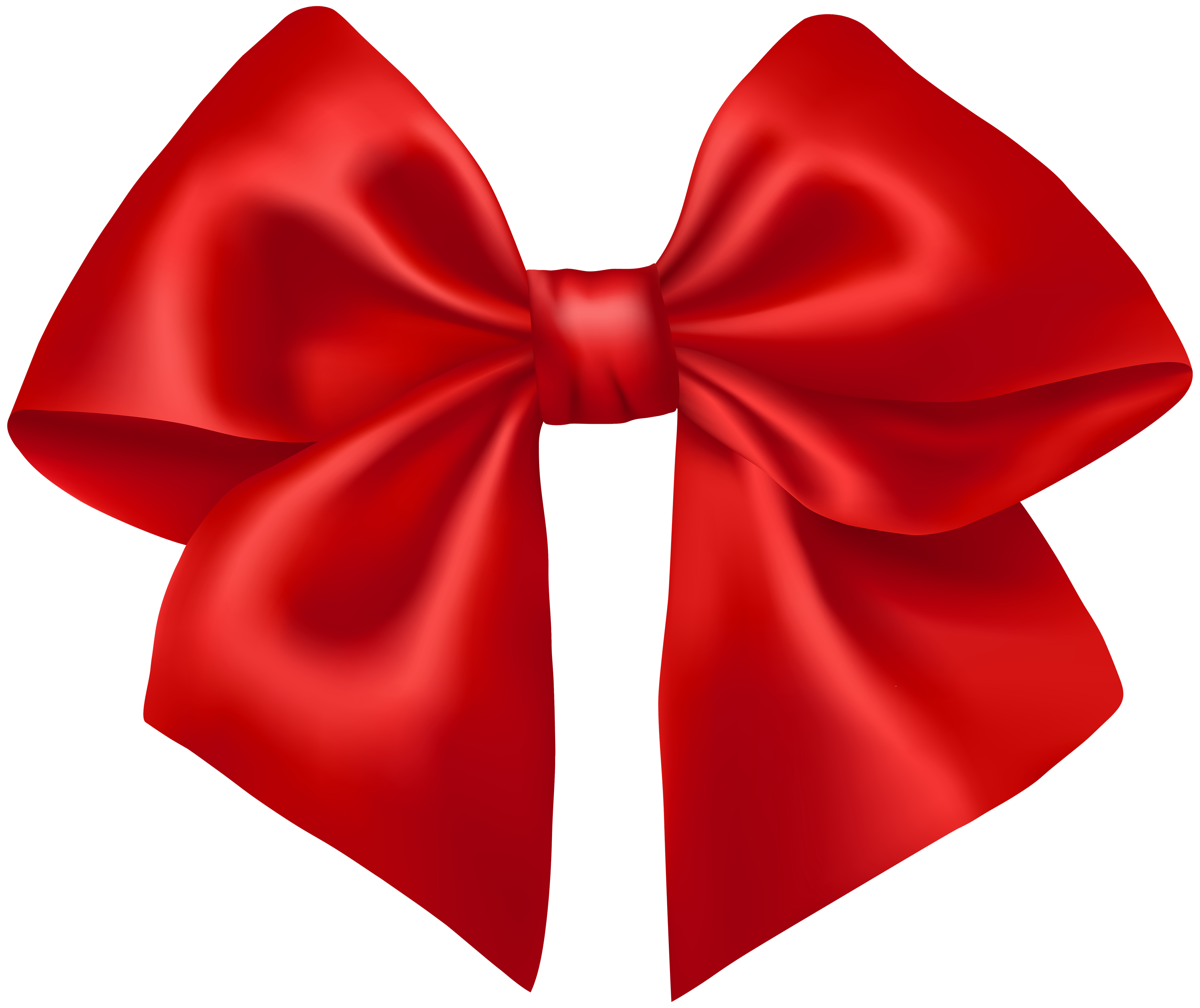 3000x2521 Red Ribbon Png Clipart