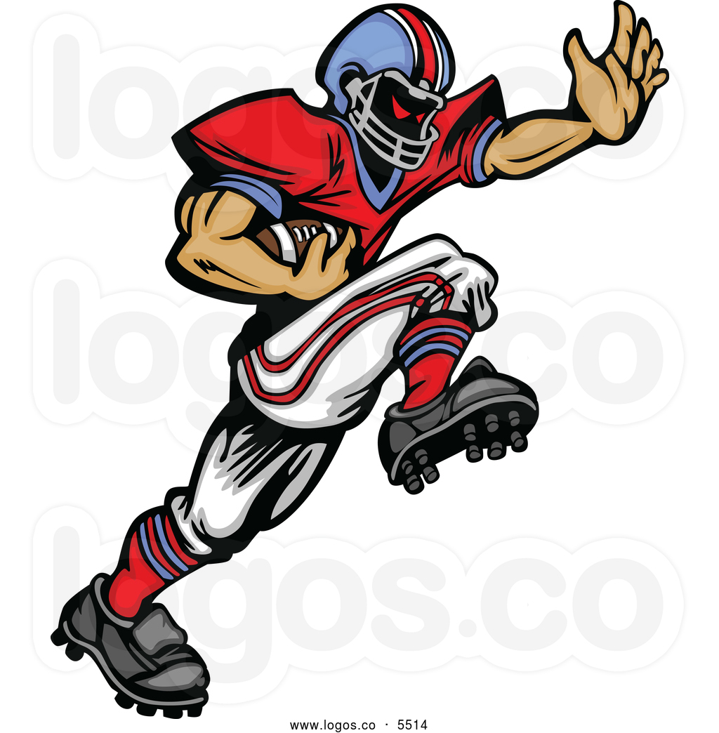 1024x1044 Football Clipart Runner