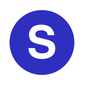 300x300 Letter S In A Cercle Blue Clip Art