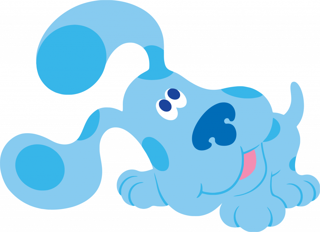 1024x742 Simplistic Pictures Of Blues Clues Blue S Clip Art Playing Clipart