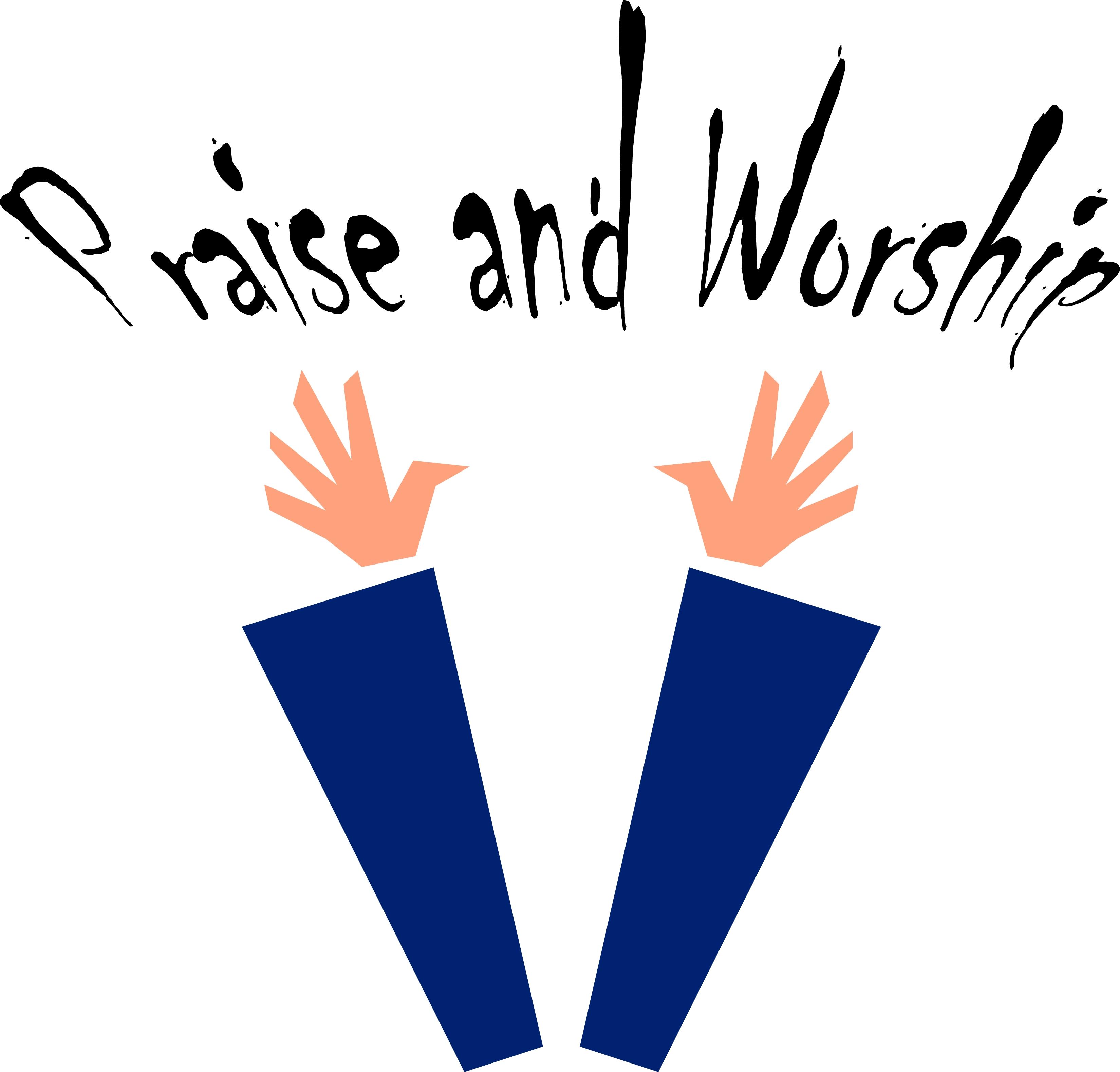 3300x3158 Clip Art Of Worship Slide Clipart