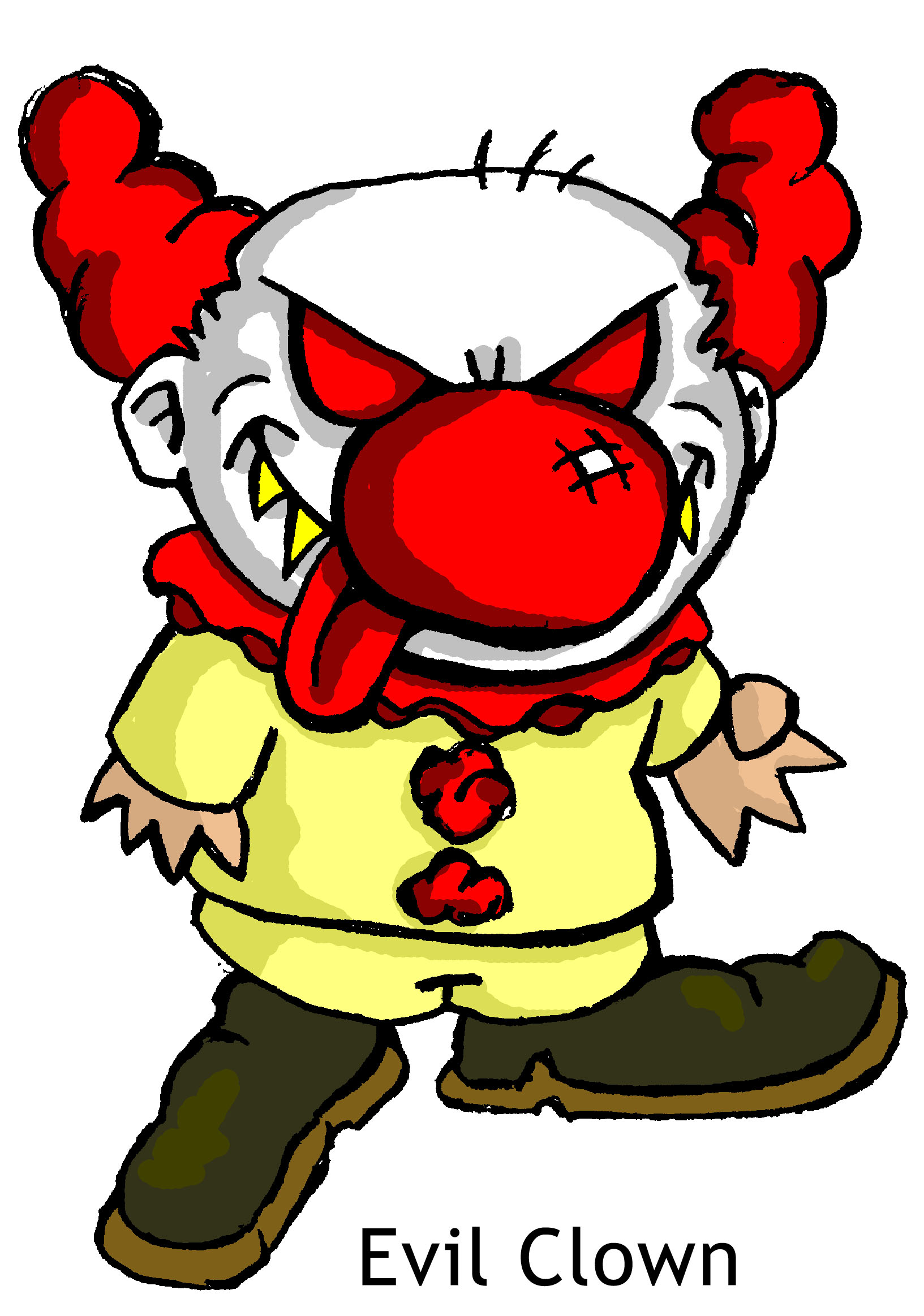 1633x2327 Clown Clipart Scary Amp Clown Clip Art Scary Images