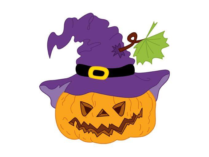 680x511 Halloween Pumpkin Clipart