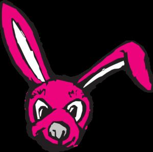 299x297 Scary Bunny Clip Art
