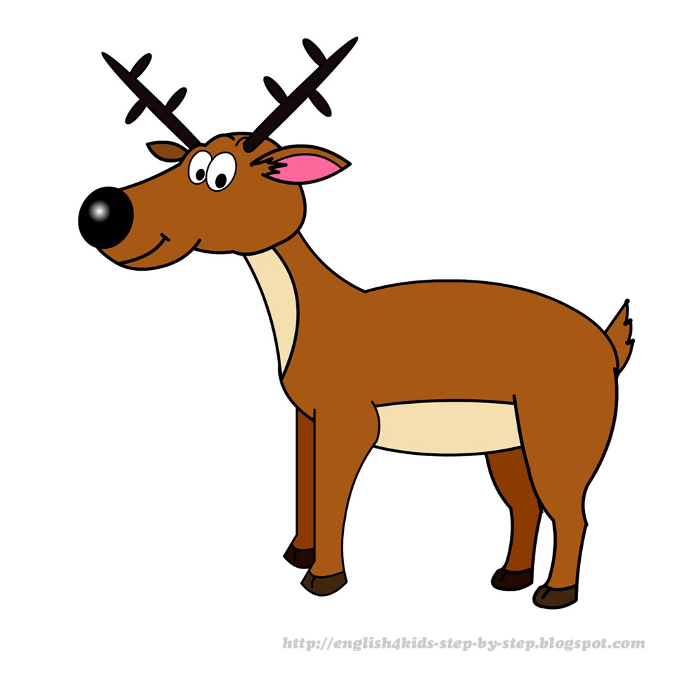 1000x997 Scary Clipart Deer
