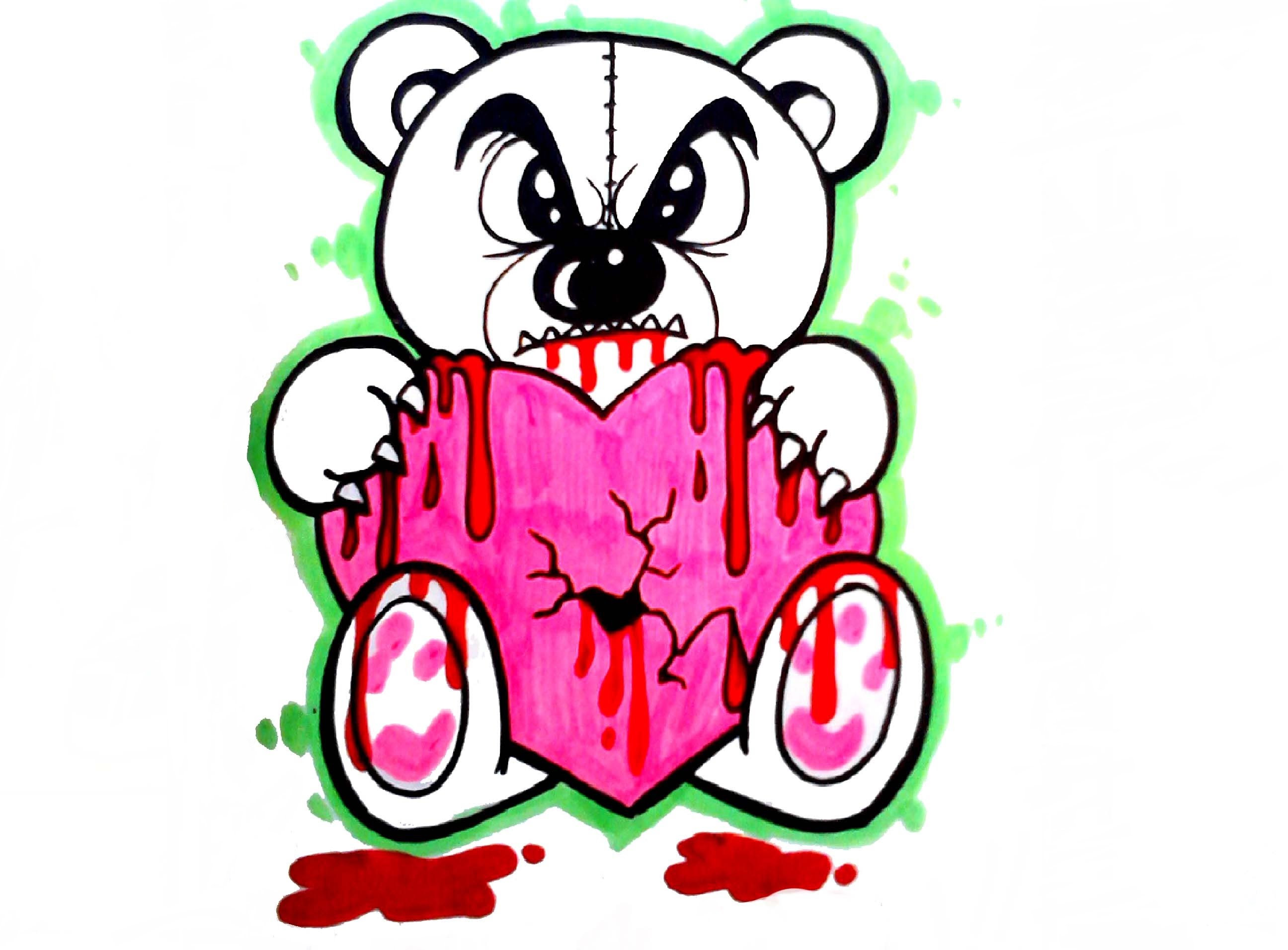 2592x1912 Clip Art Grizzly Bear Clipart Panda Free Images Tearing Scary