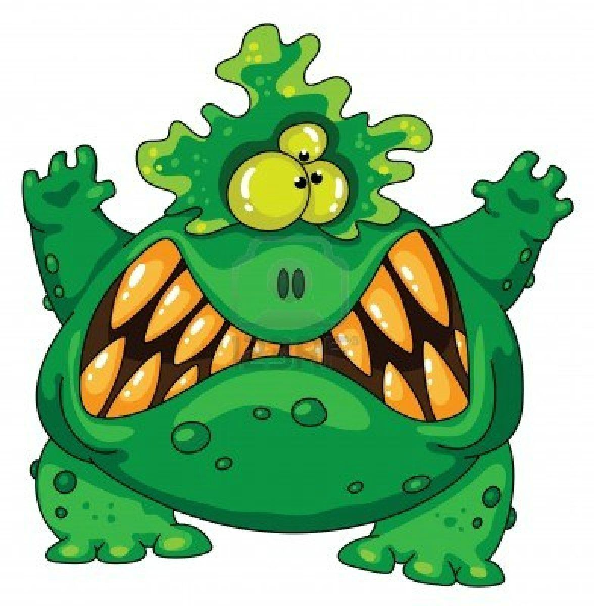 1176x1200 Clip Art Scary Monster