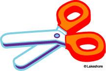 217x145 Scissors Clip Art