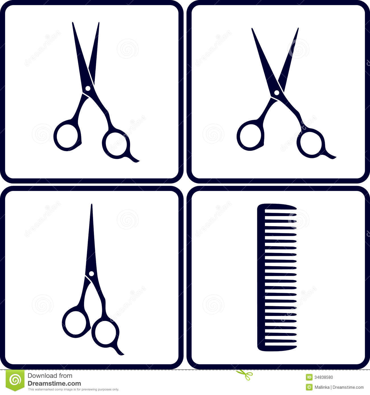 1300x1388 Clip Art Comb And Scissors Clip Art