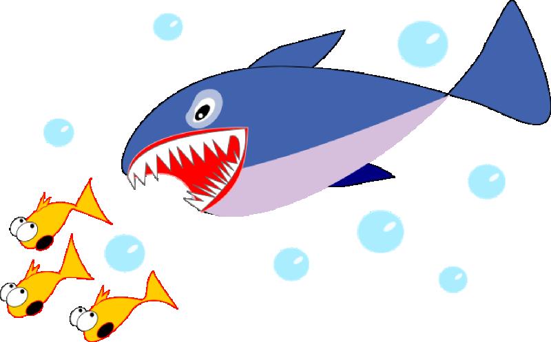 800x497 Shark Sea Creatures Clip Art Clipart Panda